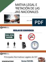 II.normativa Legal e Interpretación de Las Normas Nacionales