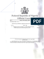 Nigeria Withholding Tax GAZETTE 2015