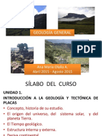 HISTORIA DE GEOLOGIA