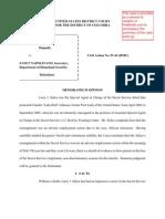Sykes v. Napolitano 07-42