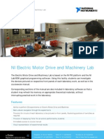 Electric Motor Drive and Machinery Lab