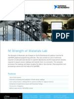 Strength of Materials Lab