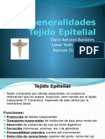 Generalidades Tejido Epitelial
