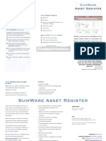 Asset Register Brochure