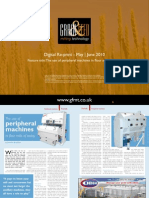 The use of peripheral machines in flour mills of today
