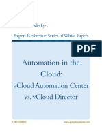Automation in the Cloud VCloud Automation Center vs VCloud Director