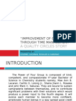 Chem 91. Quality Circle Story