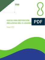 Hacia Una Definición Inclusiva Del E-Learning - Sangrá