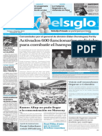 Edición Impresa Elsiglo 14-08-2016