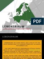 Lebensraum PDF