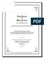 The Magic of Believing by Claude Bristol 1948 Success Manual Strategist Edition 2010