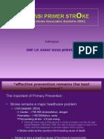 Ischemic Stroke Primary Prev ASA2006