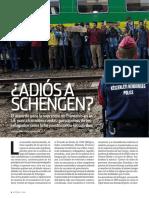 Adios a Schengen - Historia y Vida - Nº577