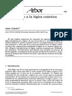 Adan Cabello - Lógica cuántica