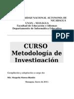 Curso Met. Investigacion Informatica Educativa 2011