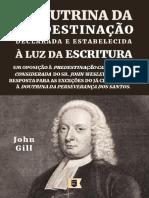 A Doutrina da Predestinação John Gill.pdf