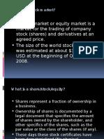 PPT on Stock Market
