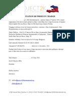 Attestation de Prise en Chargefadne