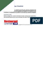 Copy of Restaurant Start Up Checklist-1