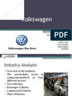 Presentation on Volkswagen