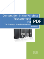 Final Wireless Telecommunications Industry Paper