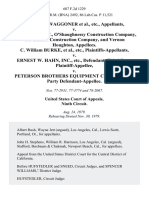 William C. Waggoner, Etc. v. R. McGray Inc., O'ShaughneSSy Construction Company, Tri-Central Construction Company, and Vernon Houghton, C. William Burke, Etc. v. Ernest W. Hahn, Inc., Etc., Third-Party v. Peterson Brothers Equipment Co., Etc., Third-Party, 607 F.2d 1229, 3rd Cir. (1979)