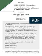 Empire Kosher Poultry, Inc. v. Hallowell, Penrose Van Buskirk, Jr., Max A. Block, John Apple, John Sharman, Euclid C, 816 F.2d 907, 3rd Cir. (1987)