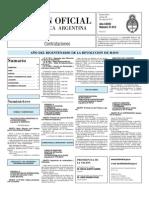 Boletin Oficial 28-05-10 - Tercera Seccion