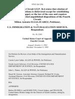Milton Antonio Elias-Juarez v. U.S. Immigration & Naturalization Service, 978 F.2d 1254, 4th Cir. (1992)