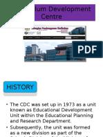 Curriculum Development Centre