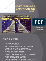 Salient features of campaigns on hse.pptx