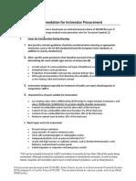 Incinerator Procurment Guide_BEO-DCHA