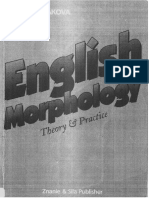 G. Penakova - English Morphology