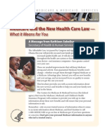 Medicare and the New Healthcare Law