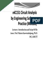 INC151 Matlab Lec1
