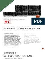 Frist Aid Scenario Library