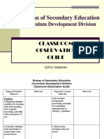 BSE CLASS OBSERVATION GUIDE.pdf