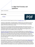 Fuel Economy and Greenhouse Gas Regulations