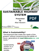 Sustainable Highway System Presentation