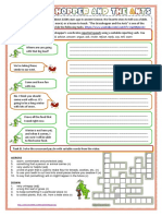 The Grasshopper and the Ant (worksheet)