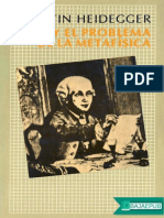 Kant y El Problema de La Metafi - Martin Heidegger (2)