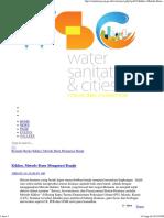 Water Sanitation and City Drainase