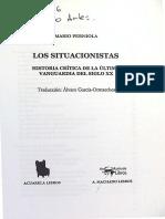 Mario Perniola Los Situacionistas Historia Critica de La Ultima Vanguarda Del Siglo XX