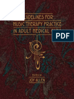 Guidelines for Music Therapy Practice in Adult Medical Care