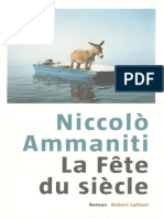 La Fete Du Siecle - Ammaniti, Niccolo