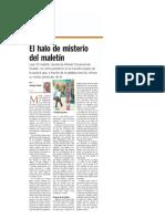 El Halo de Misterio Del Maletín – Correo Semanal, Diario Ultima Hora (Asunción – Paraguay), Por El Escritor Augusto Casola, 28 de Noviembre de 2015