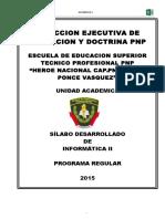 Silabo Informatica 2015 II