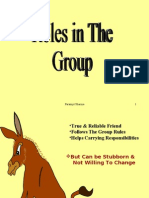 Behaviour in the Group