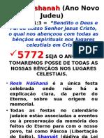 Rosh Hashanah (Ano Novo Judeu) - Atos Proféticos 5772.ppt