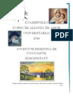 Cuadernillo AA 2016 Univ. Scho.